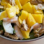 Summer Salad With Thai Honey Mango