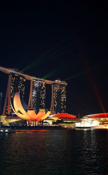 Lights Of Marina Bay