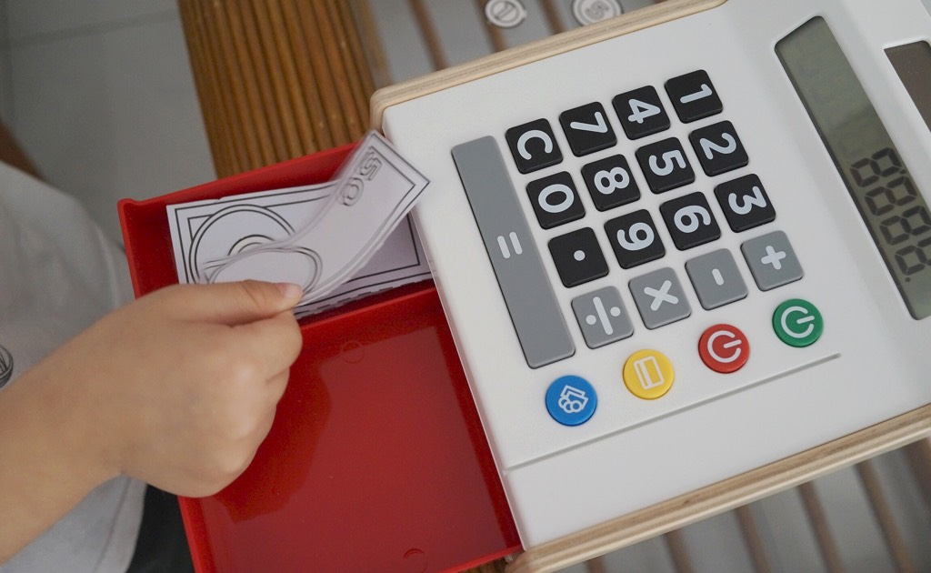 Duktig Cash Register Toy By IKEA