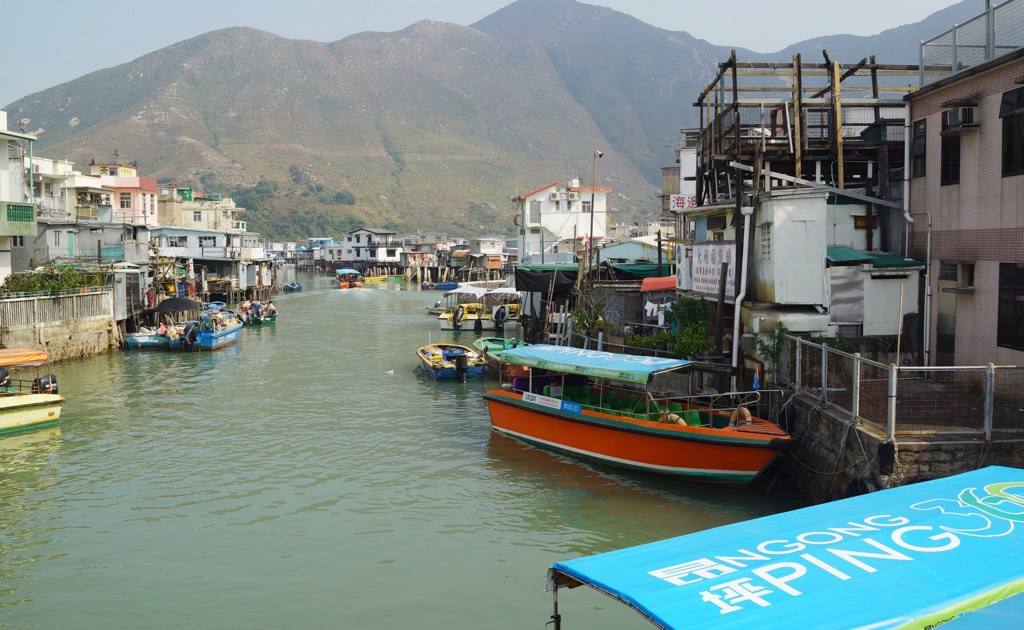 Visit to Tai O Fishing Town in Hong Kong