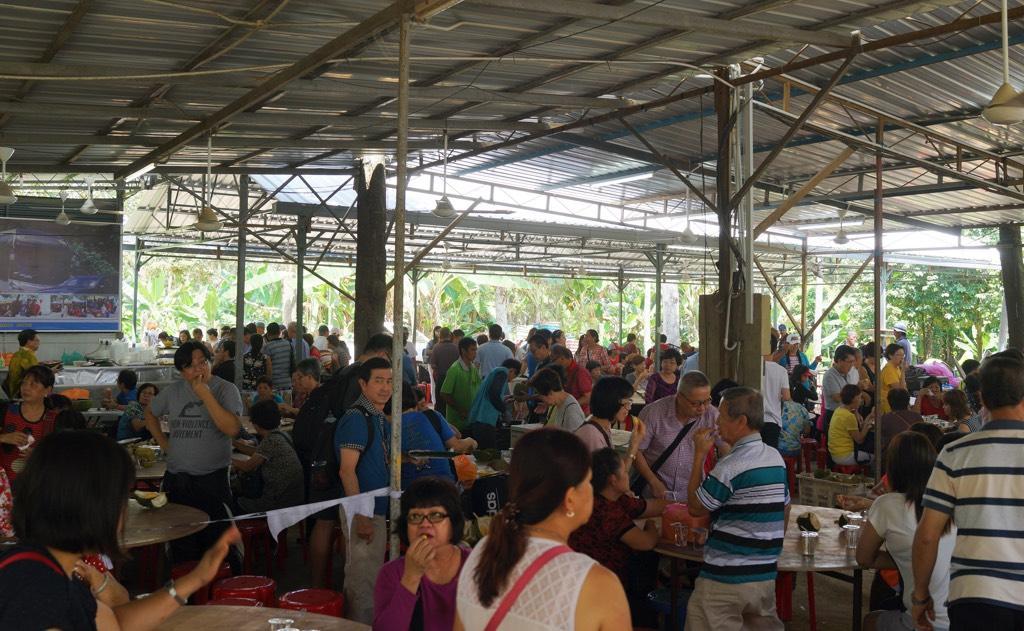 Durian Buffet In Ledang Malaysia