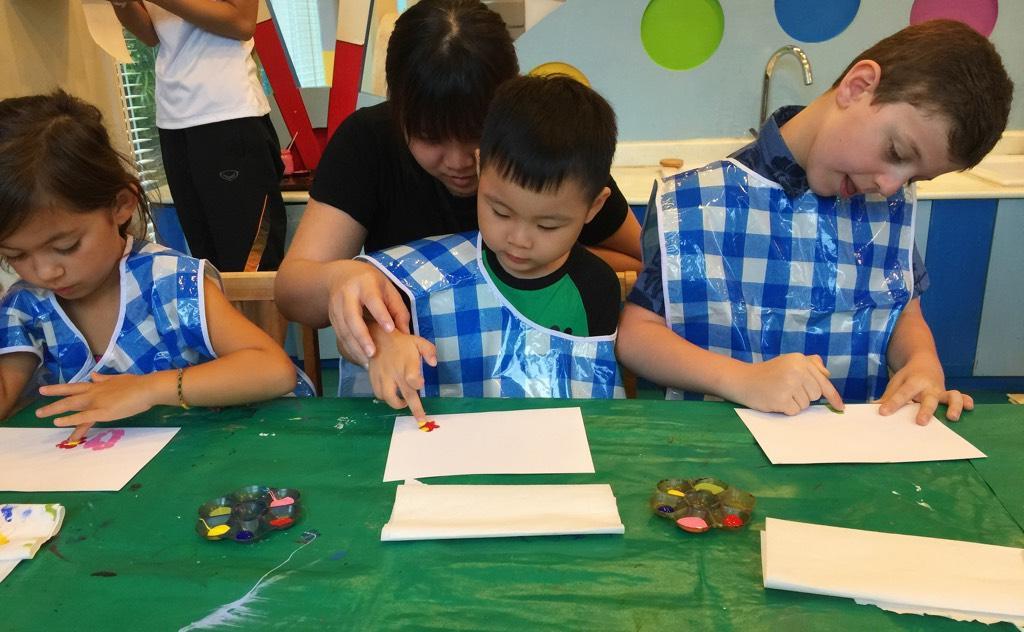 Painting And Turtle Feeding In JW Marriott Phuket