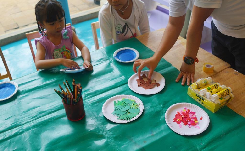 Crafting And Turtle Feeding In JW Marriott Phuket