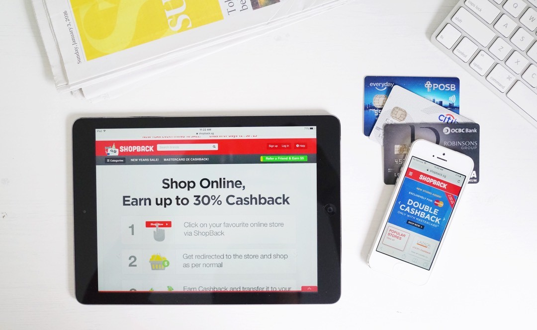 Enjoy High Cash Backs With ShopBack