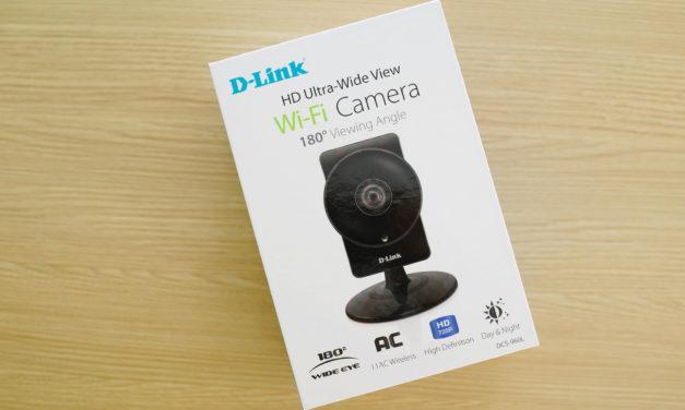 D-link DCS-960L Wireless HD 180 Degree Cloud Camera
