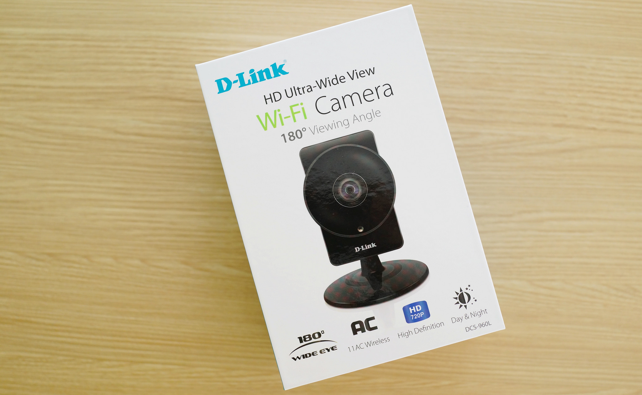 D-link DCS-960L Wireless HD 180 Degree Cloud Camera