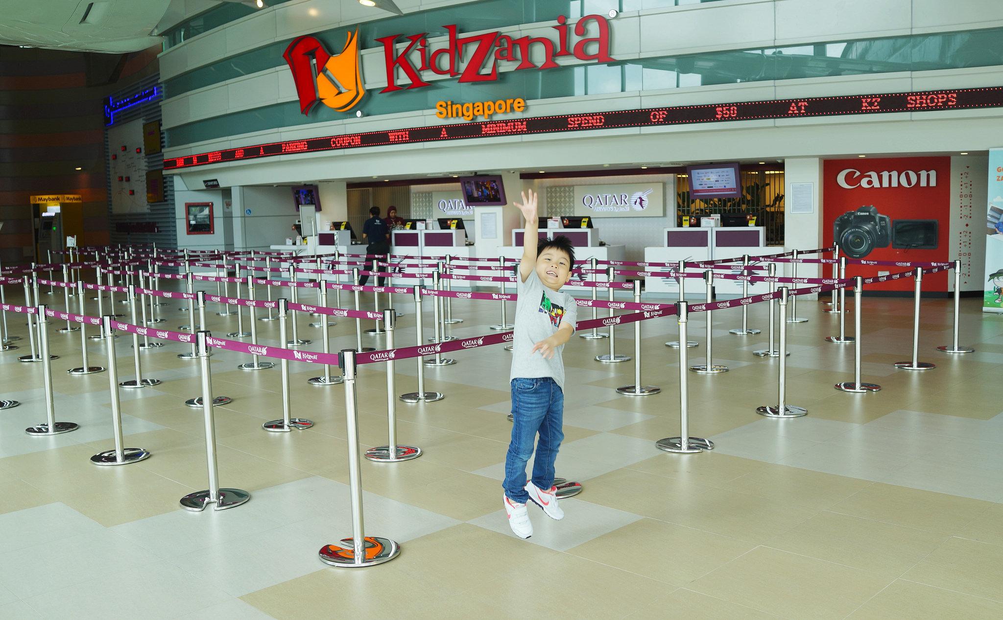 I Am A Canon Photojournalist At KidZania Singapore