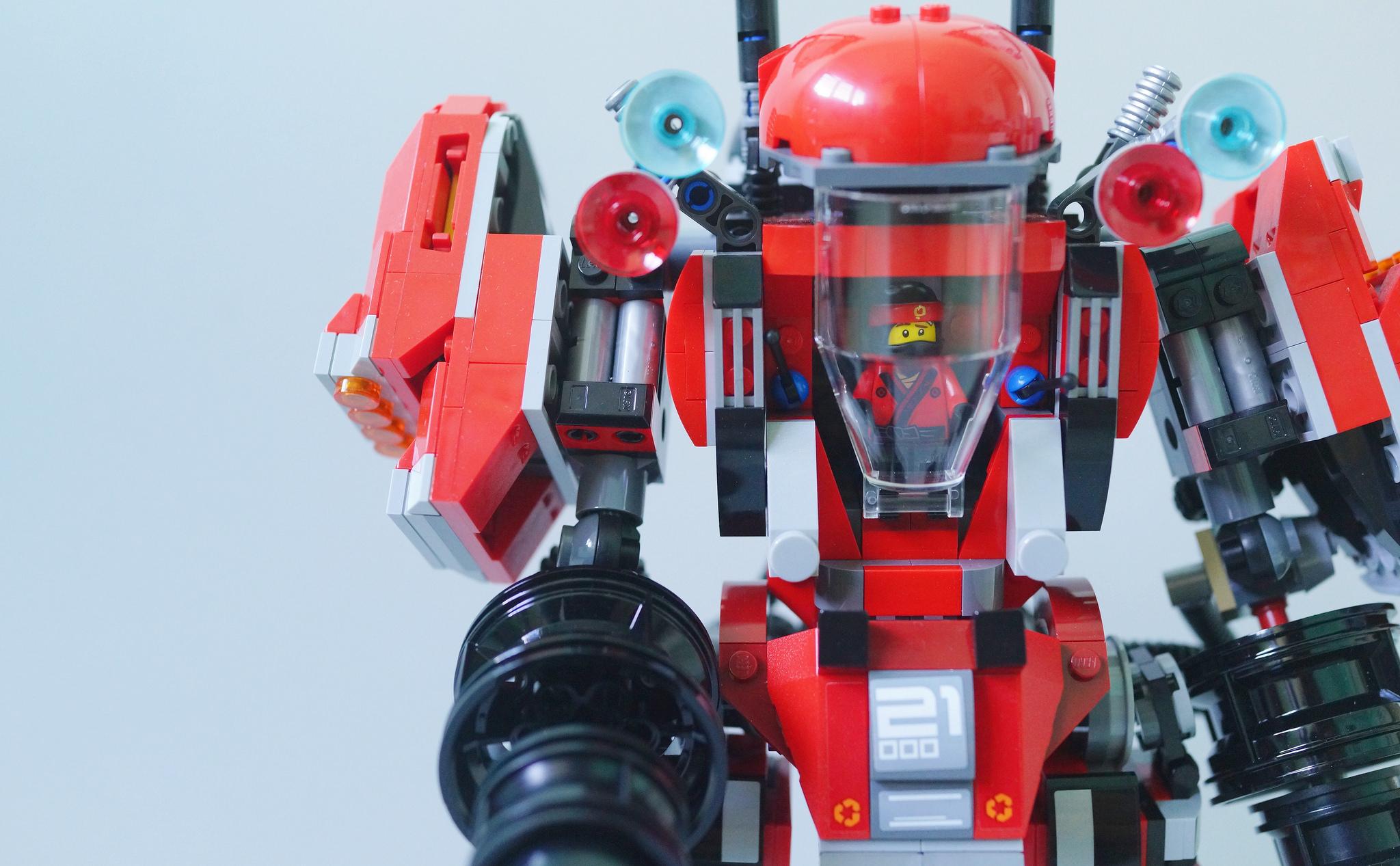 The LEGO Ninjago Movie Toy Review: Fire Mech - Lemon Film