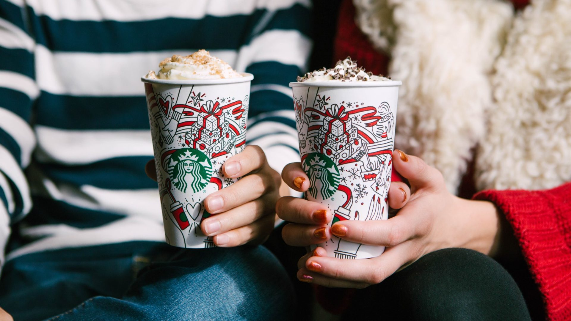 Starbucks Christmas Drinks.How Sweet Are Starbucks Christmas Drinks Lemon Film